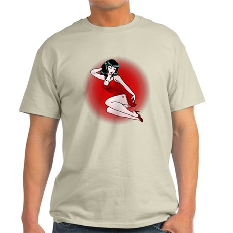 Pin-Up Girls Tattoo Light T-Shirt