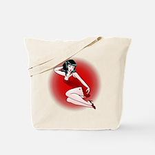 Pin-Up Girls Tattoo Tote Bag