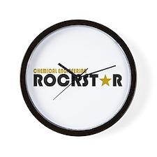 Chemical Engineering Rockstar Wall Clock