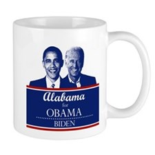Alabama for Obama Mug
