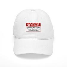 Notice / Electrician Baseball Cap