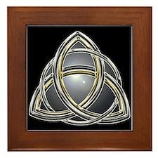 Trinity Knot 2 Framed Tile