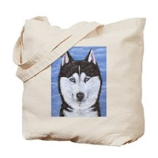 Cool Sled dogs Tote Bag