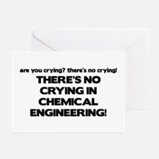There's No Crying in Chemical Engineering Greeting