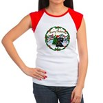 XmasMusic1MC/Scottie Women's Cap Sleeve T-Shirt