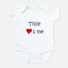 Tillie Infant Bodysuit