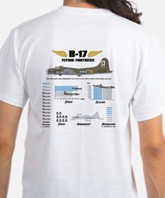 B-17 Flying Fortress T-Shirt (2-sided)