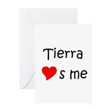 Tierra Greeting Card