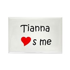 Tianna Rectangle Magnet (10 pack)