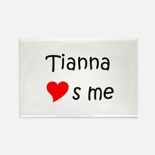 Funny Tianna Rectangle Magnet