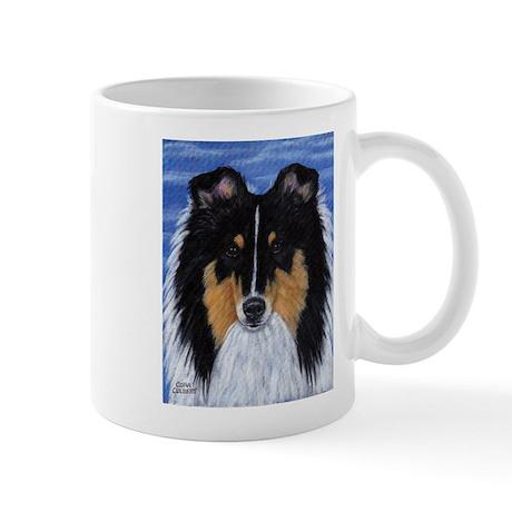 Blue Sky Tri Sheltie Mug
