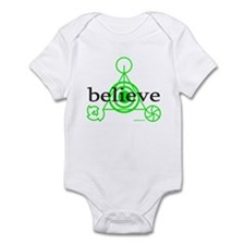 ALIEN CROP CIRCLE Infant Bodysuit