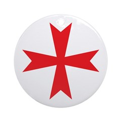 Sign of the Templar Ornament (Round)