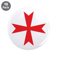 "Sign of the Templar 3.5"" Button (10 pack)"