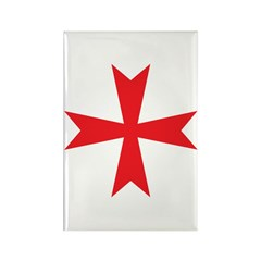 Sign of the Templar Rectangle Magnet (10 pack)