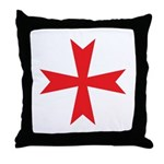 Sign of the Templar Throw Pillow
