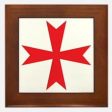 Sign of the Templar Framed Tile