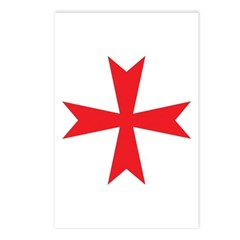 Sign of the Templar Postcards (Package of 8)