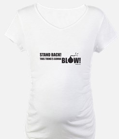 Stand Back! Maternity Tee