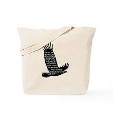 Isaiah 40:31 Eagle Tote Bag