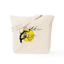 Harvest Moon Owl Tote Bag