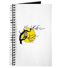 Harvest Moon Owl Journal