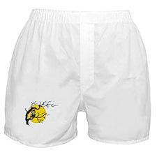 Harvest Moon Owl Boxer Shorts