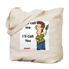 The Cell Phone Message Tote Bag