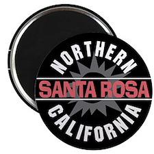 """Santa Rosa California 2.25"""" Magnet (100 pack)"""