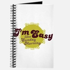 I'm Easy Like Sunday Morning Journal