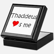 Unique Thaddeus Keepsake Box