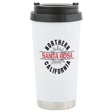 Santa Rosa California Travel Mug