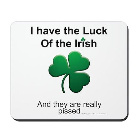 Luck o' the Irish Mousepad