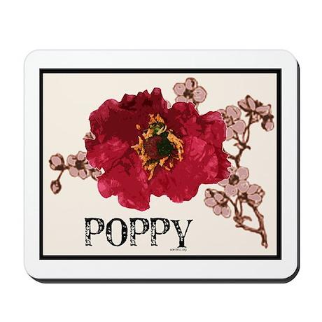 Poppy Logo Mousepad