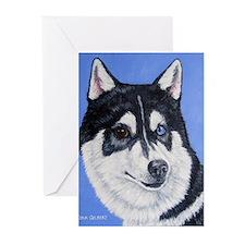 Sled Dog Banshee Greeting Cards (Pk of 10)