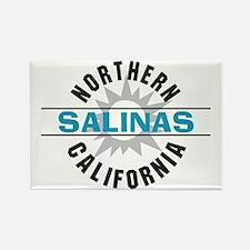 Salinas California Rectangle Magnet