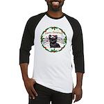 XmasMusic1MC/Skye Terrier Baseball Jersey