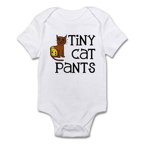 Tiny Cat Pants Infant Creeper