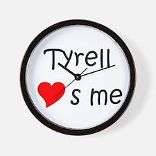 Funny Tyrell Wall Clock