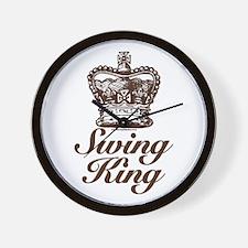 Swing King Swing Dancing Wall Clock