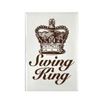 Swing King Swing Dancing Rectangle Magnet (10 pack