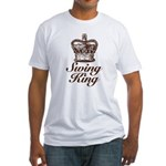 Swing King Swing Dancing Fitted T-Shirt