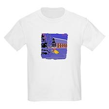 Scenic Snowmobile Christmas T-Shirt
