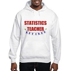 Retired Statistics Teacher Hoodie