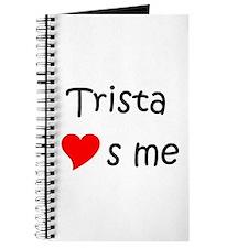 Unique Trista Journal