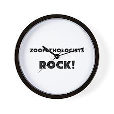 Zoopathologists ROCK Wall Clock