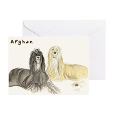 Afghan by Shawna Pauley Greeting Cards (Package of