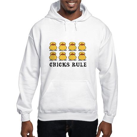 Chicks Rule Hooded Sweatshirt
