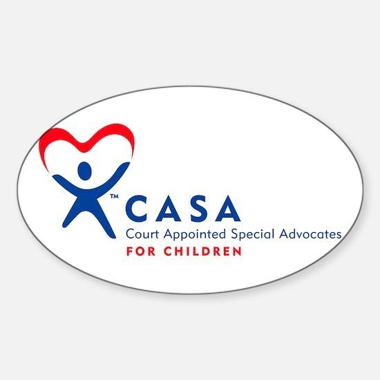 2nd JD CASA Oval Sticker (10 pk)