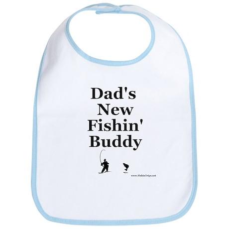 """""""Dad's Fishin' Buddy"""" Bib"""